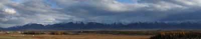 Северочуйский хребет горы