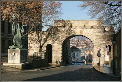 Венские ворота Венские ворота Будапешт Венгрия январь 2014
