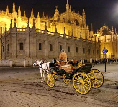 ***  трепетное ожидание в городе ночном... ночь испания ожидание
