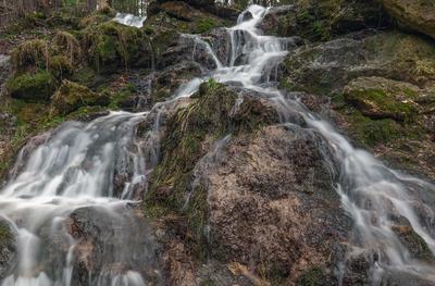 ***водопад семи родников водопад