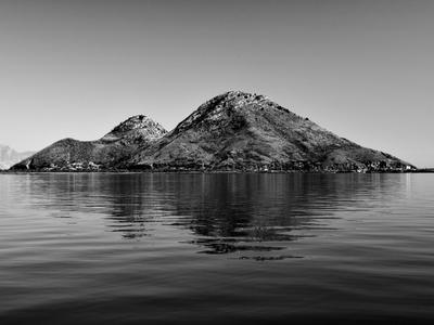 isle остров озеро чб