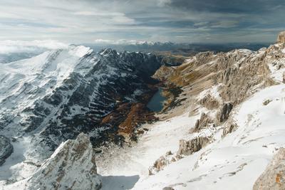 Вид с вершины Боботов Кук