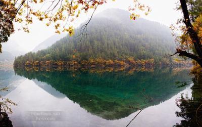 Jiuzhaigou #19 Jiuzhaigou Цзючжайгоу долина_ _деревень Jiuzhai_valley China Китай vakomin