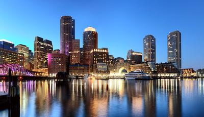 Boston Harbor Бостон