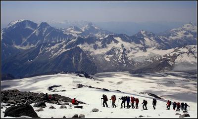 На прогулку ... Кавказ