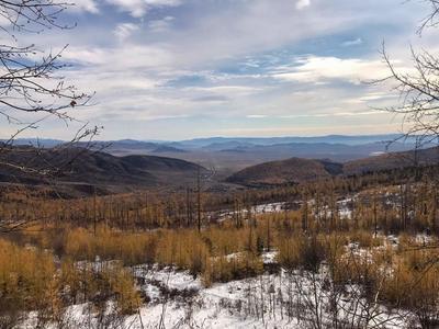 Долина Царей осень природа пейзаж Россия небо облака Тыва