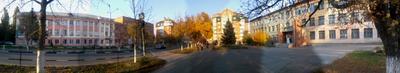 площадь двух школ