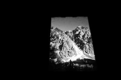 из окна горы Ак-тру