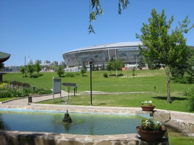 Донецк. Стадион. стадион