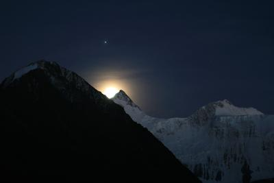 Лунный восход.