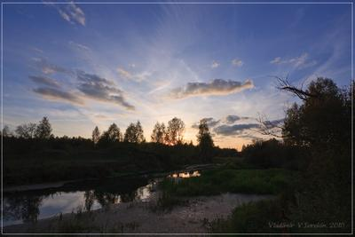 Тихий вечер река Нерль