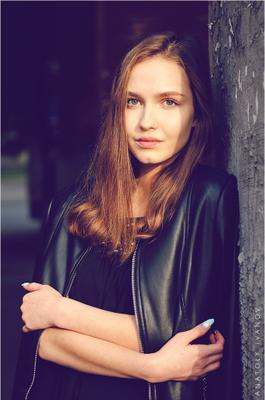 Соня Портрет девушка город фотосессия фотопортрет