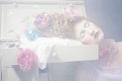 спящий цветок
