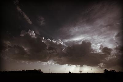 Облака над дорогой облака дорога солнце