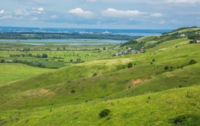 Свияжские холмы природа.пейзаж лето татарстан тихий плес холмы река свияга