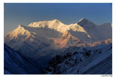 Хребет Аннапурны Thorong La Nepal Annapurna