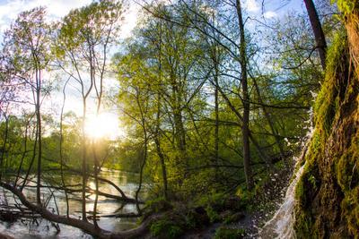 Радужный Водопад водопад нара