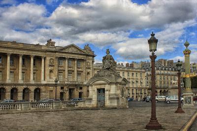 Площадь Согласия Париж