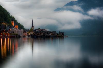 альпийское зеркало гальштадт, австрия
