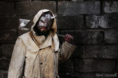за маской топор арматура маска страх заказ учёба