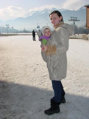 Кенгуру и горные лыжи :)