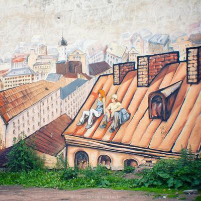 On the Vyborg streets. II Anton Korablev