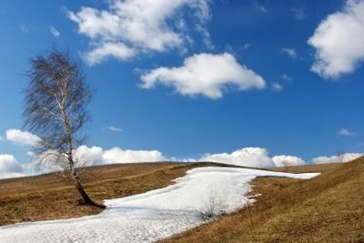 Снега земные и небесные.