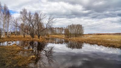 Апрельские озёра