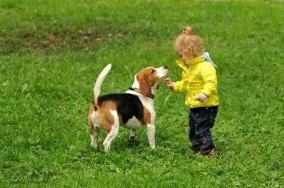 человек собаке друг :о)