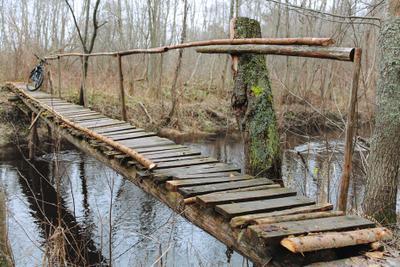 на другой берег мост Яуза