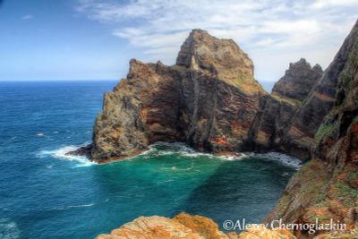 Скалы Сао Лоренсо океан скалы мадейра португалия