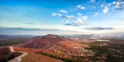 Медная гора Карабаш