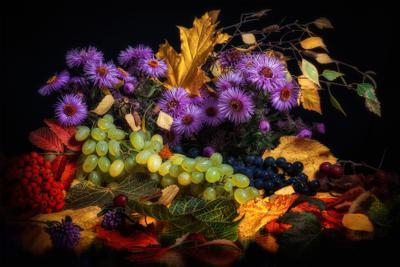 Осенние дары - 2. осень натюрморт