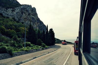 путь дорога вид гора