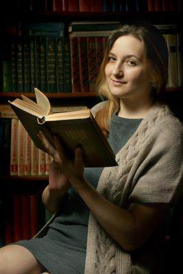 Люди и книги Люди и книги женский портрет Василий Прудников фото фотограф