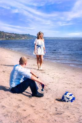 Лето осенью свадьба счастье муж жена