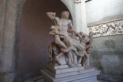 Лаокоон, Ватикан Скульптура Рим Ватикан