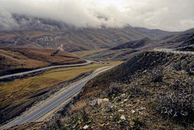 По горным дорогам. горы дагестан анди