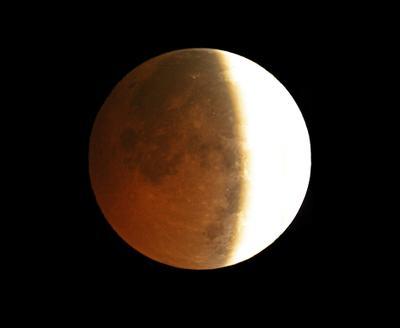 Мой любимый спутник луна, затмение