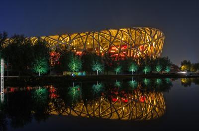 Bird's Nest Bird's_Nest Птичье_гнездо Пекин Китай Beijing China vakomin