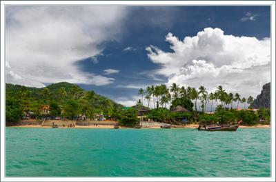 уплывая из сказки ... Ao Nang  Тайланд, Краби море пальмы