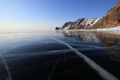 *** Байкал, лед