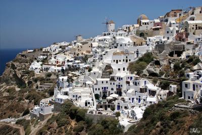 Белый город (Греция, Санторини)