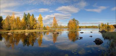 Осень в Швеции осень