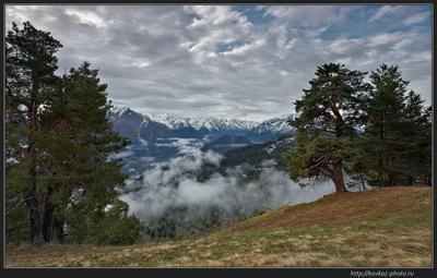 Погода портится Кавказ горы Архыз