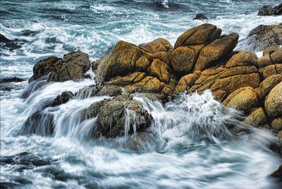 Морские странствия камни, вода, океан, волны