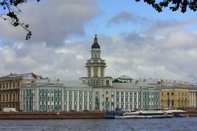 Петербург. Кунсткамера  Питер город харомы дворец архитектура
