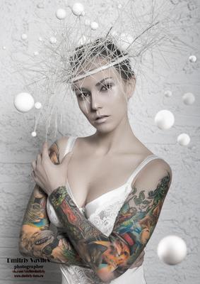 Kali Vorona art vavilova portret portrait art_vavilov art_protivpravil арт портрет девушка
