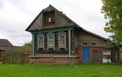 Старожил дом деревня