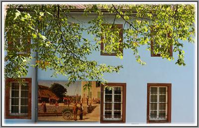 Школьный музей городка Ottweiler Германия саарланд ottweiler